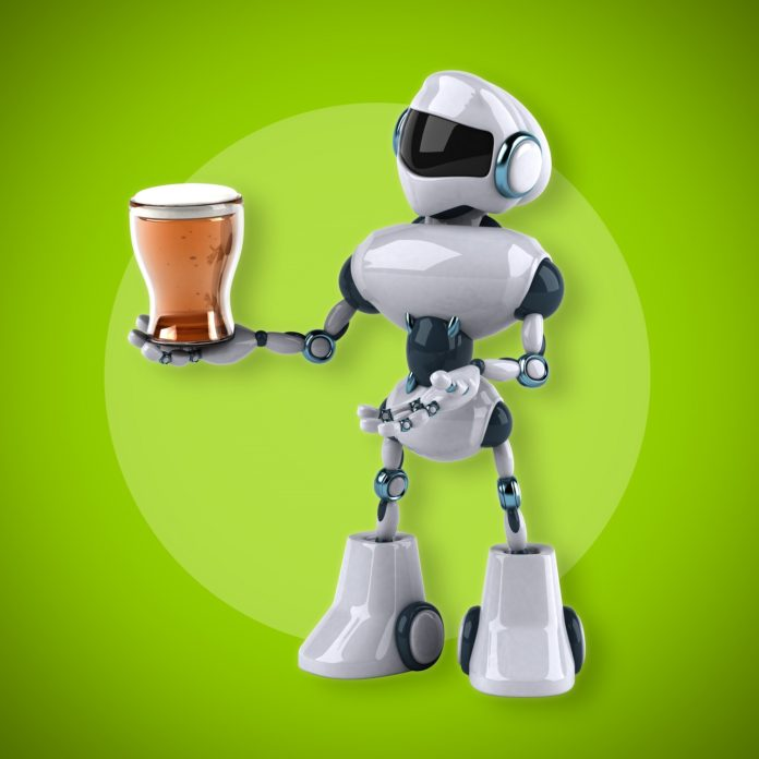Robot and beer