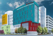 Novak Center for Children's Health rendering