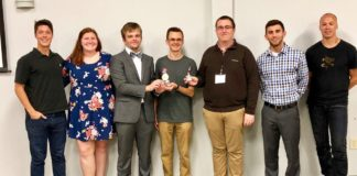 A team from UofL came up with a solution that could help easily locate small items that often get misplaced. The idea took top honors in the most recent Louisville Startup Weekend.