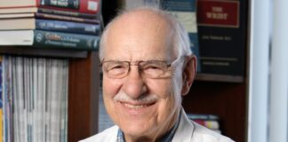 Dr. Joseph Kutz, who passed away Oct. 10, was part of the team that performed the world's first hand transplant with prolonged success at Jewish Hospital in January 1999.